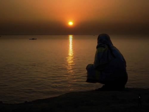 sunset bangladesh mawa dhakadivision