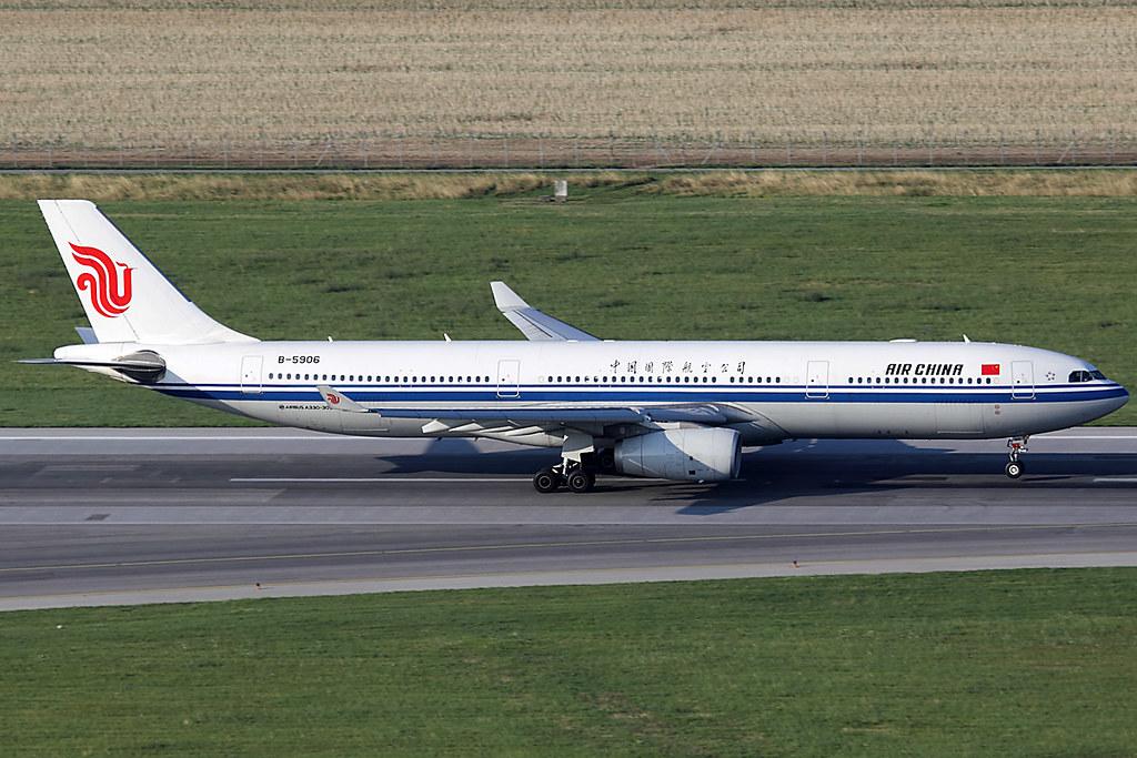 B-5906 - A333 - Air China