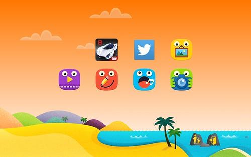 Kids Mode บน Samsung Galaxy Tab S 8.4