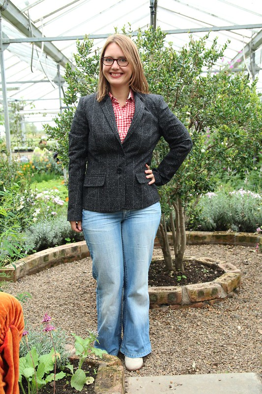 great plains tweed blazer