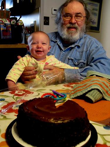 Louisa Mae & Papa