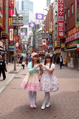 Lolitas in Shibuya