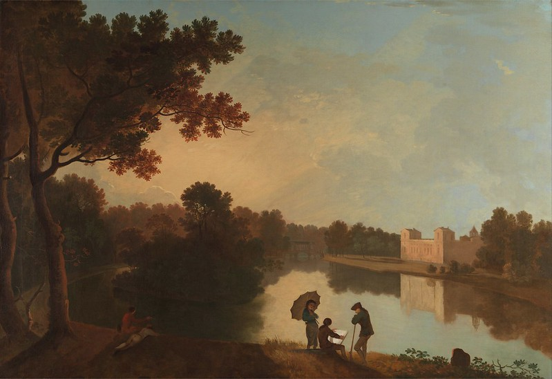 Richard Wilson - Wilton House from the Southeast