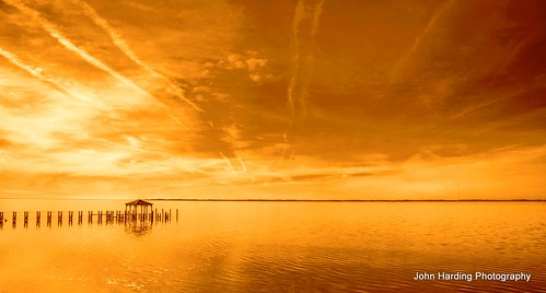 winter sunset coast duck december northcarolina gazebo outerbanks tisdale curritucksound 2013 theoldgazeboatduck