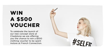 Win a $500 French Connection Voucher
