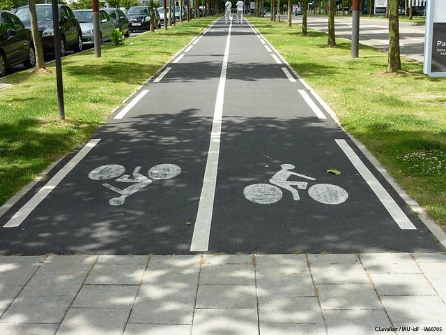 Quelques aménagements cyclables