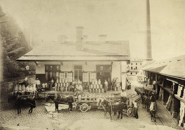 The dairy in Vevey (1890)