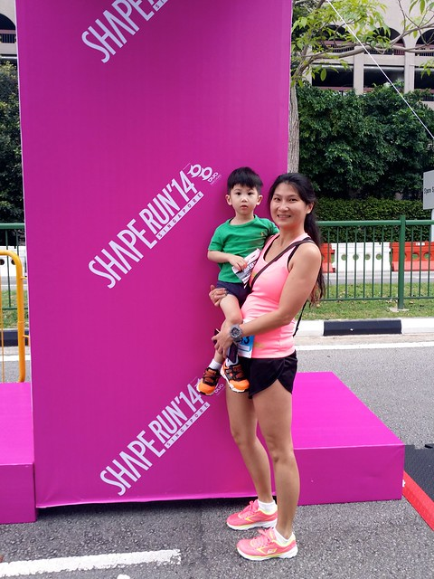 Jerry & me, at Shape Run 2014. (credit: Skechers Singapore)