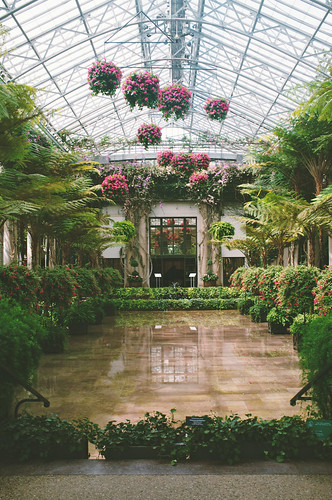 Longwood Gardens Conservatory.