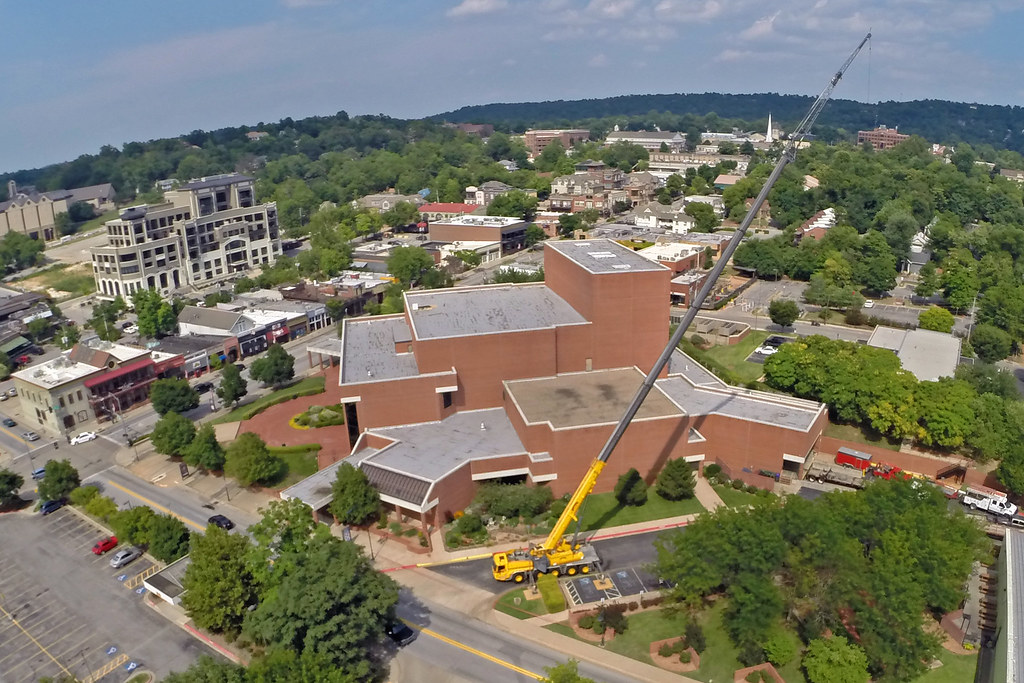 Roof Repairs Begin At Walton Arts Center Fayetteville Flyer