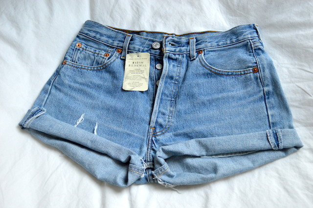 Urban Outfitters Vintage Levis Jeansshorts Cutoffs