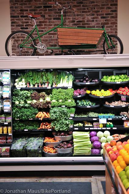 Bike parking at Green Zebra Grocery-21