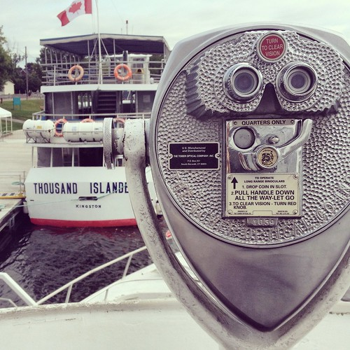 Thousand Islands tour in Gananoque