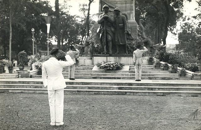 SAIGON ca. 1950 - Công trường Chiến Sĩ