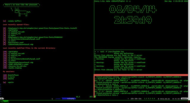 How to improve your productivity in terminal environment with Tmux