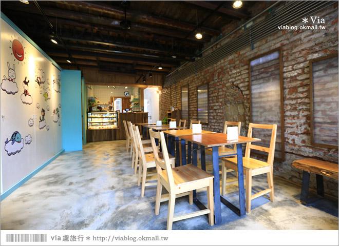 【阿朗基咖啡】台南店開幕囉!台南老屋餐廳推薦~老屋改造+可愛療癒系的新餐廳10