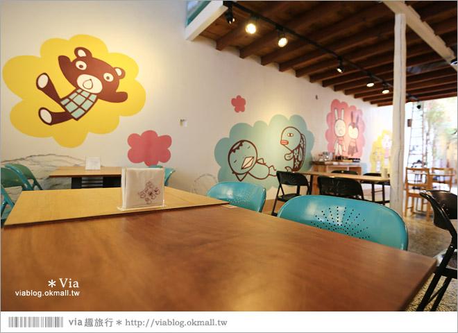 【阿朗基咖啡】台南店開幕囉!台南老屋餐廳推薦~老屋改造+可愛療癒系的新餐廳24