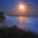 SuperMoon over BeachyHead