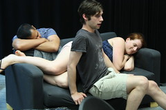 Thu, 2014-08-21 06:42 - Photos from our rehearsal process of the play about making theatre with special attention on the scenes about rehearsal. Wha!? #dontcallitplaypractice