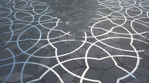 Penrose tiling Oxford
