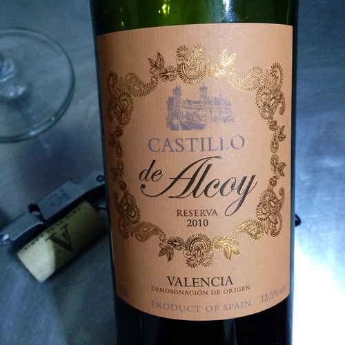 Castillo de Alcoy Reserva 2010. Lidl. Red wine.