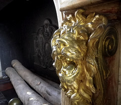 Fireplace of the Hercules Salon