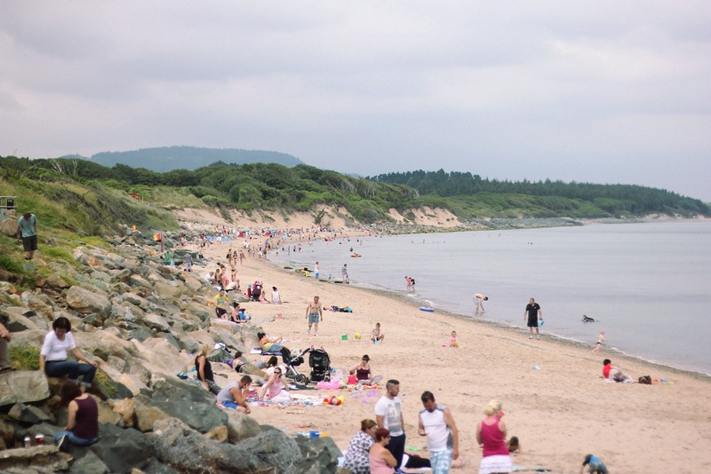 courtown beach