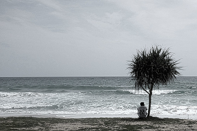alone surin beach phuket thailand august 2014