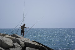 fishing, sea, recreation, ocean, casting fishing, outdoor recreation, surf fishing, coast, fisherman,