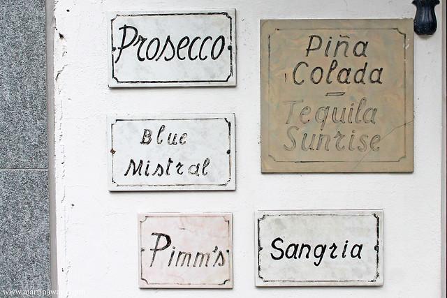 Un bar di Ascona