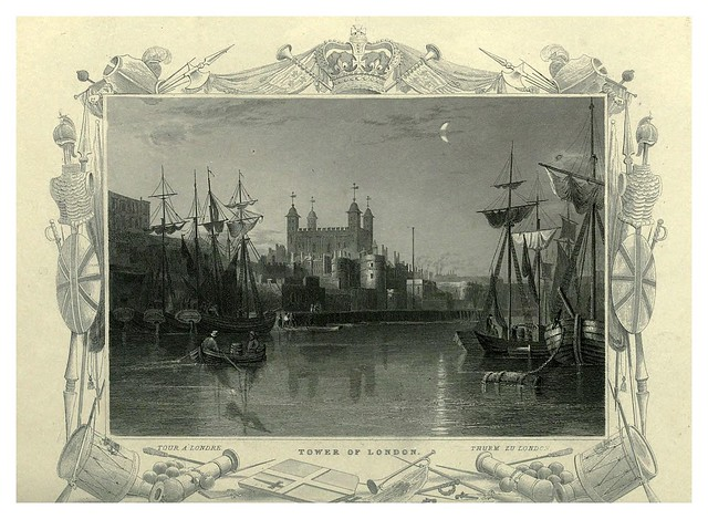 009-Torre de Londres-The Thames and Medway…W.G. Fearnside