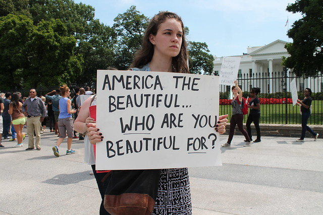 America the Beautiful...Who are you beautiful for?