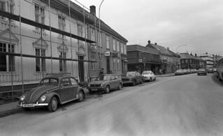 Dronningens gate mot øst sett fra St. Olavs gate (ca. 1976)