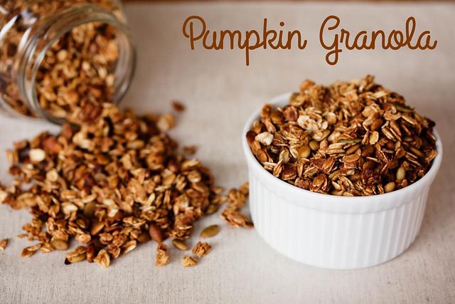 cute & little blog | pumpkin granola recipe | breakfast | gluten-free
