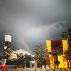 Rainbow over Mantis