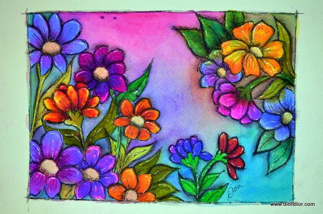 Twinkling Summer Garden