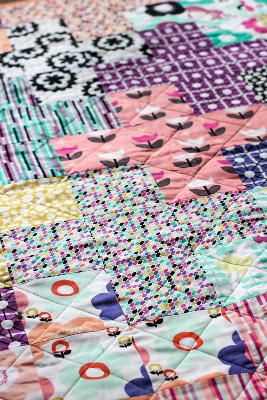 Geometric Bliss Arithmetic Quilt