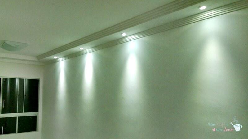 Iluminação Apê - Sala