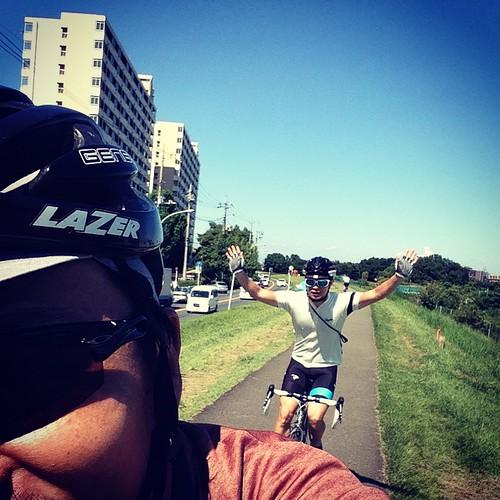自転車日和な本日。(午前中)#abscc #onekan #MUDMAN #morningride