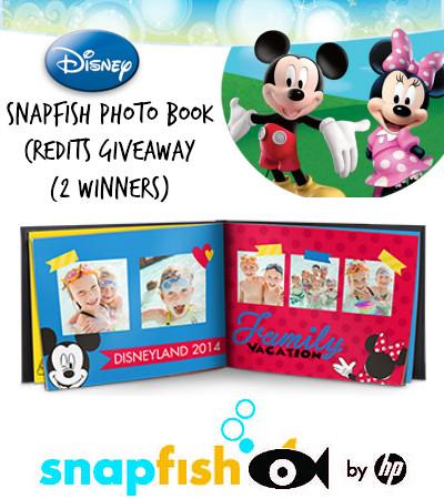 Snapfish Disney Photo Book Giveaway