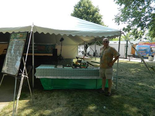 Iowa cultural tent 1