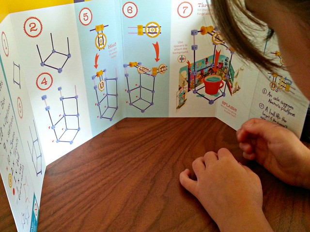 GoldieBlox Dunk Tank instructions, GoldieBlox review