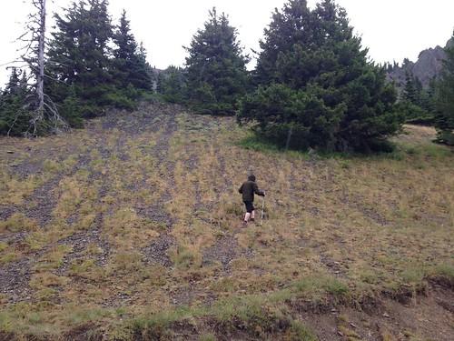 Surveying at Steeple Rock
