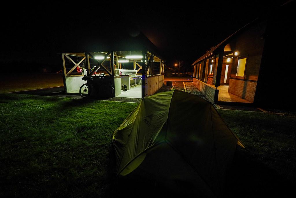 Motto Kazete Campground in Hamanaka, Hokkaido, Japan