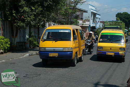 Panduan rute dan tarif angkot di Kota Wonosobo menuju Dieng