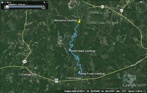 Messervy to Long Creek Edisto