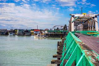 Westham Island Bridge Opening for Boats