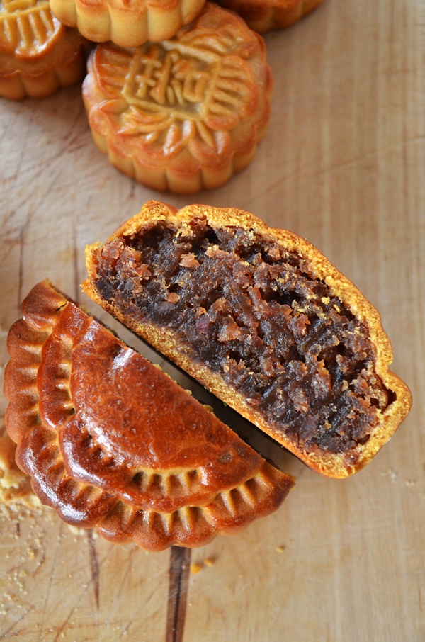 BBQ Meat Mooncake