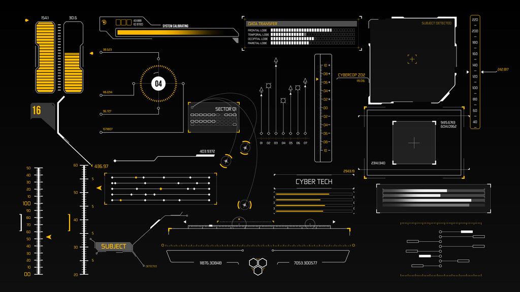VideoHive HUD Infographic Elements 8804752 - Free After Effects Project Files