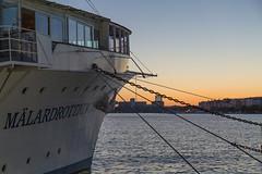 Hotel & Dinner Boat Malardrottningen at Dock - Gamla Stan